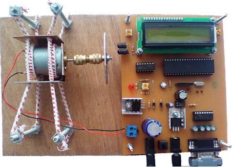 موتور DC با میکروکنترلر AVR