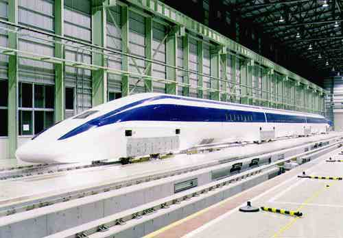 قطار سرعت بالا توسط موتور خطی_[www.wikipower.ir]